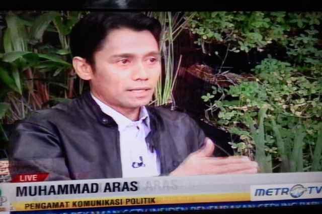 Wawancara terkait pandangan kabinet Jokowi-JK di Metro TV