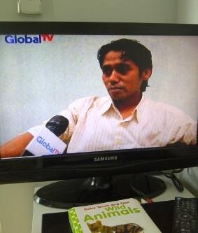 Wawancara terkait konsep pembangunan Indonesia di Global TV